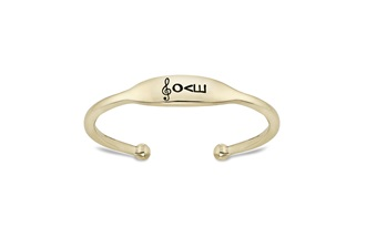 14K Gold Finish Bracelet by Love Notes